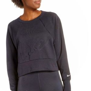 NWT | Nike | Embossed Dri-fit Get Fit Sweatshirt